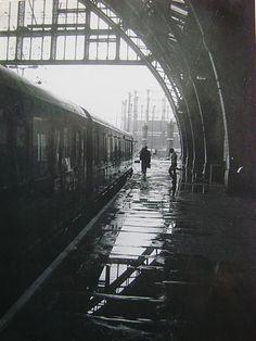 St Pancras Station 1980, London by nicksarebi, via Flickr