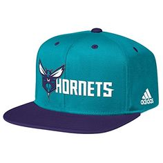 NBA Charlotte Hornets Mens Team Nation Snapback Hat One Size TealPurple ** Check out this great product.
