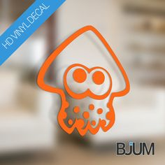 BJUM <3 Splatoon! The multiplayer online shooter has recently taken the Nintendo world by storm and were addicted! So lets celebrate! Wouldnt it be cool to get these squids out in the wild?  This is by far the highest rated, most popular Splatoon decal on Etsy. Thanks! :)  This top quality vinyl decal will apply easily and permanently to any surface and has an outdoor durability of up to 5 years, and 10 years indoors! Stick it on your console, laptop, PC, fridge, car, window... its up to…