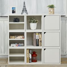 "Way Basics 40"" Cube Unit Bookcase & Reviews 