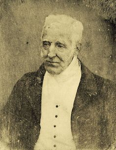 Arthur Wellesley, Duke of Wellington. Daguerreotype of the Duke of Wellington by Antoine Claudet, 1844