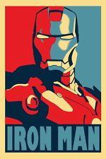 """113 Iron Man 3 - Tony Stark Captain America Movie 24""""x36"""" Poster"""