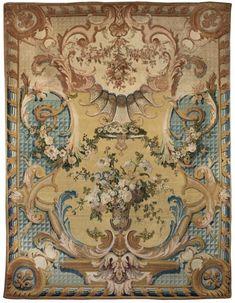 Tapis de savonnerie pour la chapelle de Versailles