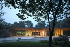 The Ambassador's residence in Beijing houses three functions: space for official functions, a service area and private area. Because of the relatively large site (4220 m²) it was possible to create a single-storey building with direct access to each fu...