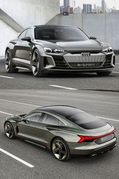 The recently demonstrated Audi e-Tron GT Performance. Let's hope this time savin… – Car Collection Suv Cars, Sport Cars, Bentley Gt, Audi, Classy Cars, Old Classic Cars, Expensive Cars, Concept Cars, Motor Car