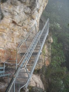 The Giant Stairway, Blue Mountains, NSW, Australia