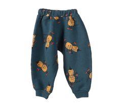 Bobo Choses Fleece Pants With Superpeanut Print | Scandinavian Minimall
