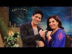 Shah Rukh Khan's Funny Actions With Farah Khan