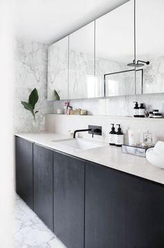 Bathroom Inspiration, Double Vanity, New Homes, Interior, Kitchen, Modern Bathrooms, Home Decor, Furniture, Bath