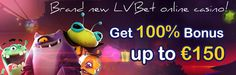 Meet brand new LVBet online #casino! Microgaming, NetEnt, Thunderkick and Wazdan games are waiting for you! #777spinslot