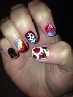 grateful dead nail art - Google Search