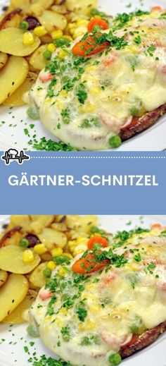 Gärtner-Schnitzel – Die Küche Baby Food Recipes, Cooking Recipes, Mary Recipe, Diy Food, Lchf, Tapas, Clean Eating, Good Food, Brunch