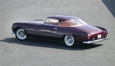 Rita Hayworth's 1953 Ghia Built Cadillac Commissioned By Her Husband Aly Khan .