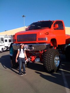 Now that's a truck