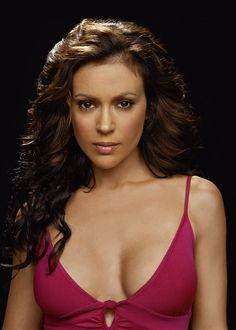 """Alyssa Milano, known as Phoebe Halliwell from """"Charmed"""". She is currently filming her new show """"Mistresses"""""""