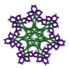 Pattern from Lindsay Rogers's Mastering Tatting