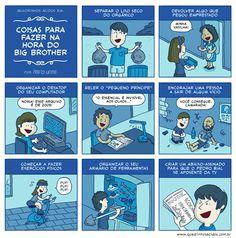 Hahhahahahaha ótima ideia!!! Por Pedro Leite Quadrinhos Ácidos