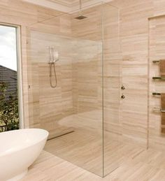 Are you looking for affordable glass shower screens, installation and repairs Gold Coast, call our professional team at WSK Australia on 1300661328 immediately! Bathroom Vanity Designs, Bathroom Floor Tiles, Bathroom Ideas, Showers Without Doors, Glass And Aluminium, Black Shower, Glass Repair, Shower Cubicles, Frameless Shower