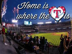 Home is where the heart is. #Rangers