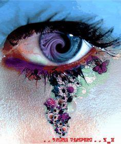 Eye in a swirl