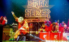 LOS ANGELES - Brian Setzer Orchestra: Christmas Rocks! Extravaganza – Gibson Amphitheatre  $25 for Swing-Band Christmas Concert on Saturday, December 22, at 8:15 p.m.