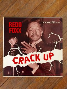 Redd Foxx - Crack Up; 1963 Original Vinyl