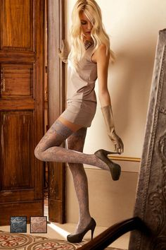 Oroblu Clarisse Lace Hold Ups