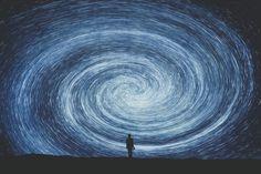 galaxy, space, and stars -kuva