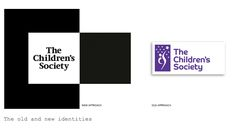 The Children's Society has a long awaited rebrand in striking black and white.