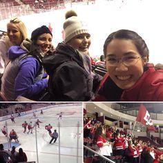 #Hockey night! #BU won 4-2 #myuniversitylife #terriers #ProudtoBU #Boston #fall #friends by grissymorales