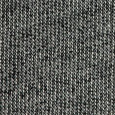Sweatshirtstoff Grob Schwarz/Natur - Stoff & Stil