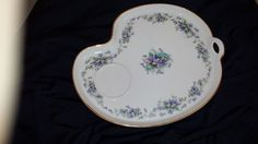 Noritake Violette Snack Tray by TeresaScholleDesigns on Etsy