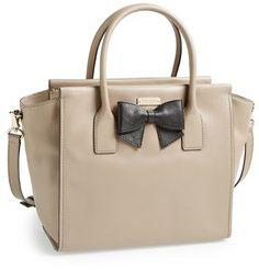 Kate Spade New York 'hanover Street - Charee' Leather Satchel #kate #spade #tan #leather #satchel #purse #sale #fashion