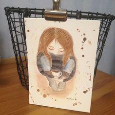 ♥ ♥ IreneEllenin piirustuksia, maalauksia. Suloisia postikortteja ja muita tuotteita.  Tervetuloa! Art, Art Background, Kunst, Gcse Art, Art Education Resources, Artworks