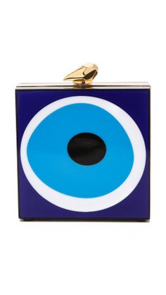 Kotur Fitzgerald Evil Eye Clutch | Would this work with your wardrobe? http://keep.com/kotur-fitzgerald-evil-eye-clutch-by-chelsea21/k/3I-g41gBIp/