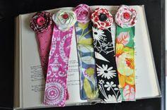 Little Birdie Secrets: fabric bookmark tutorial {teacher appreciation gift idea}