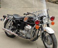 1970 Moto Guzzi Ambassador Police 7501970 Moto Guzzi Ambassador Police 750 http://www.bureauoftrade.com/product/1970-moto-guzzi-ambassador-police-750/ #BureauOfTrade