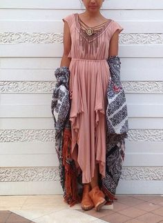 layer lux - a very boho outfit:) definitely comfy and cozy.