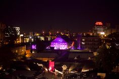 Illuminating Montreal from the New City Gas in Griffintown by C2-MTL, via Flickr