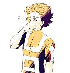 here's a shinsou i drew for his birthday a few days back ^-^