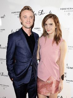 Please let us all take a moment for these beautiful persons! #Dramione #Feltson