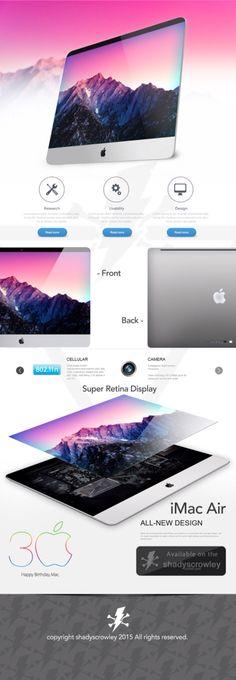 New iMac Air concept