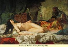 Arab and Berber (Moor) Paintings: Slaves and the Harem (2)