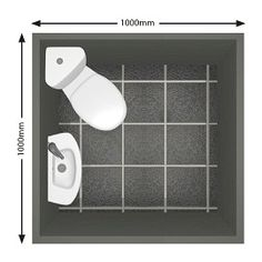 shower solutions for small bathroom | 0m x 1.0m cloakroom utilising a corner WC and slim basin.