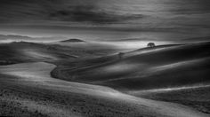 Photograph My Magical Tuscany in b/w by Alberto Di Donato on 500px