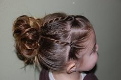 Little girl hair #www.frenchriviera.com