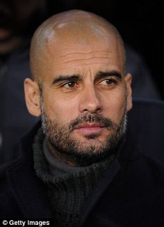 Pep Guardiola was not influenced by the money on offer in his new role at Bayern Munich, according to the club's chairman Karl-Heinz Rummenigge Haircuts For Balding Men, Mens Hairstyles With Beard, Hair And Beard Styles, Hair Styles, Bald With Beard, Bald Man, Bald Men With Beards, Great Beards, Awesome Beards