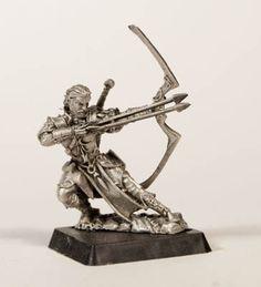 Galliant, Epic Bowman, by Valiant Miniatures
