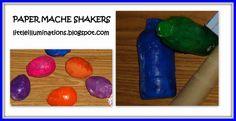 Paper mache shakers