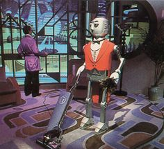 Robot Butler from Horizons: Lost Epcot